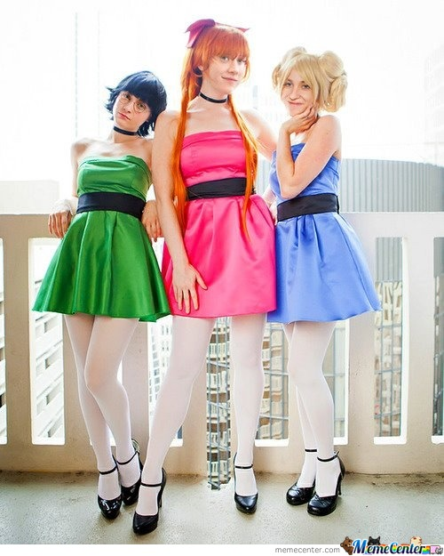 What Lovely Cosplayers... Wait...