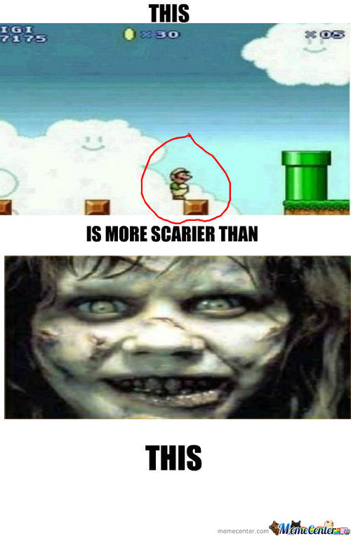What Mario Players Are Scared Of!!!!!!!!!!!!
