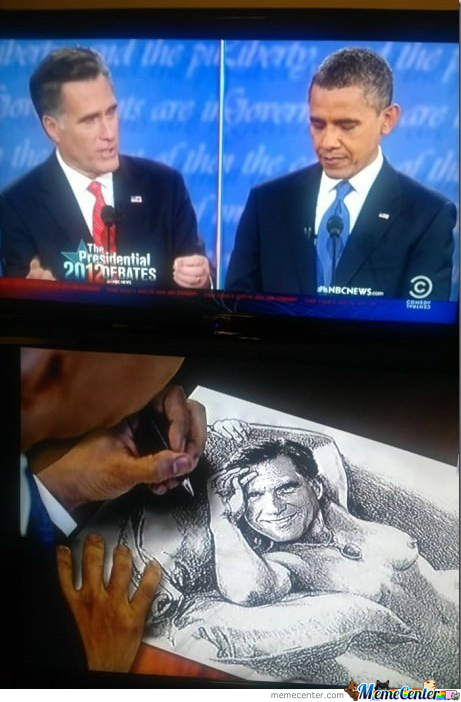 What Obama Does During The Debate
