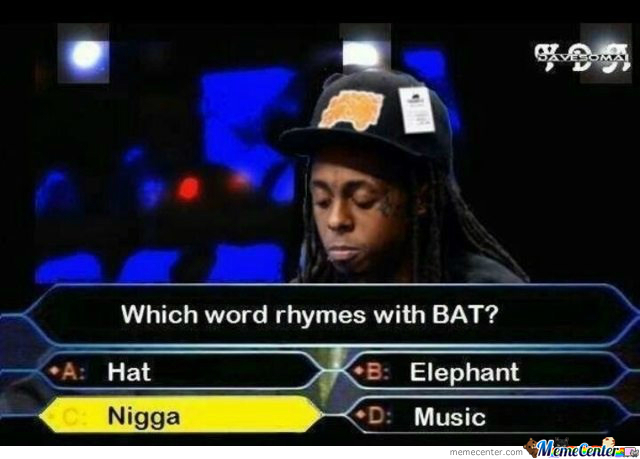What Rhymes With Bat?