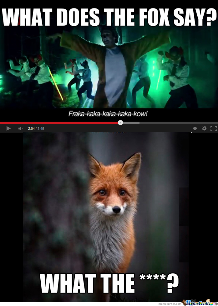 What The Fox Really Said