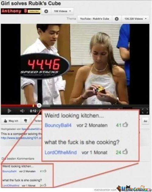 What The F*ck Is She Cooking?