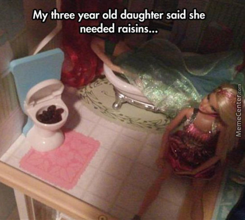 What The Hell Did Barbie Eat