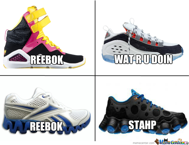 What The Hell Reebok ?