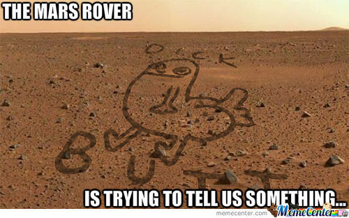 What The Mars Rover Really Drew....