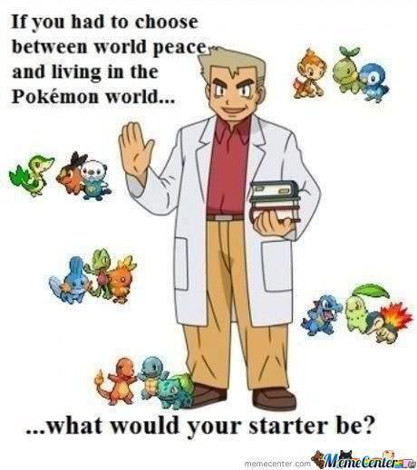 What Would Your Starter Be?