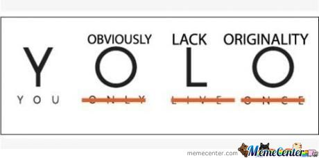 What Yolo Really Means