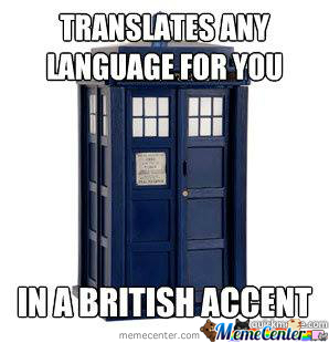 What You Talkin Bout Tardis?