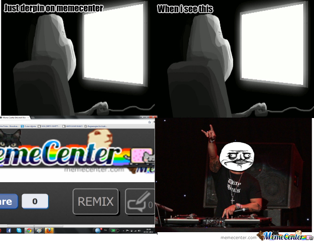 What You Thought When Saw The Remix Button