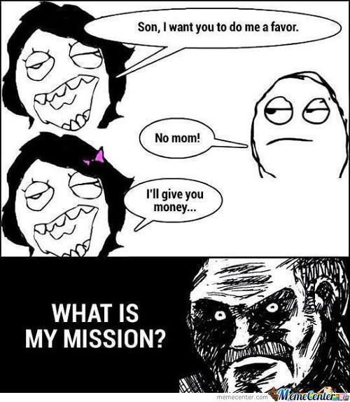 What's My Mission?