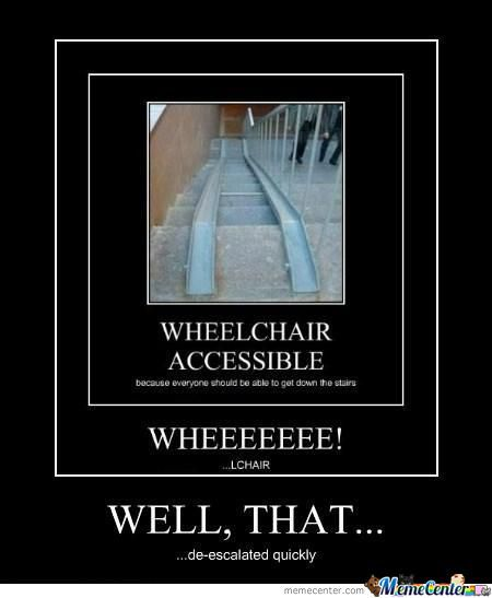 Wheelchair De-Escalate