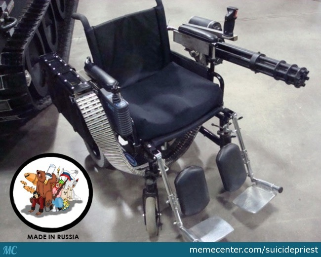Wheelchair: Russian Version
