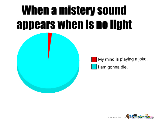 When A Mistery Sound Appear