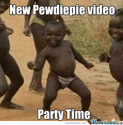 When A New Pewdiepie Video Is Uploaded