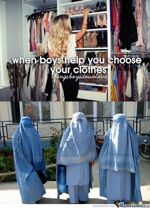 When Boy Help You Choose Your Clothes
