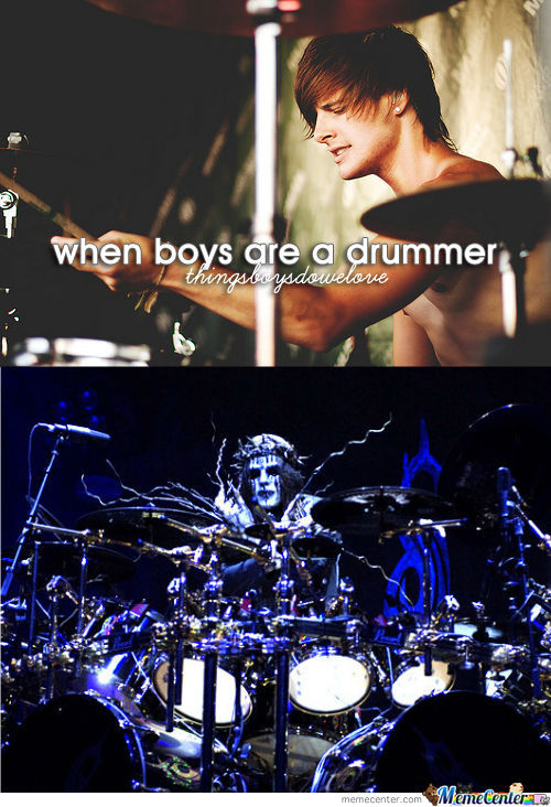 When Boys Are A Drummer