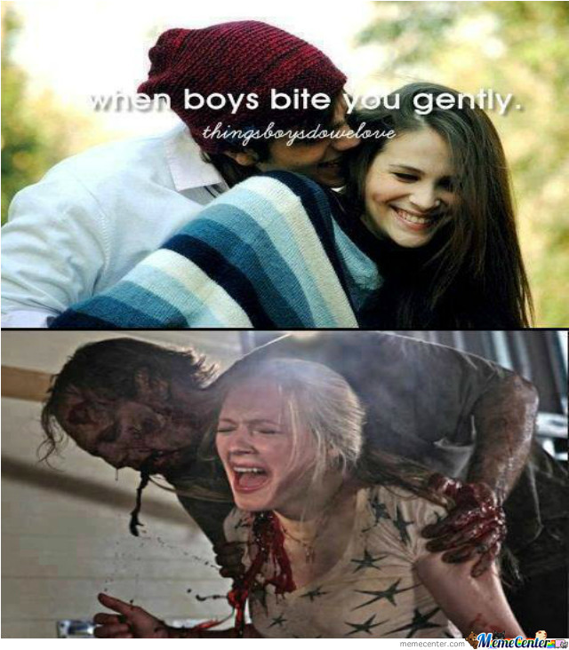 When Boys Bite You Gently