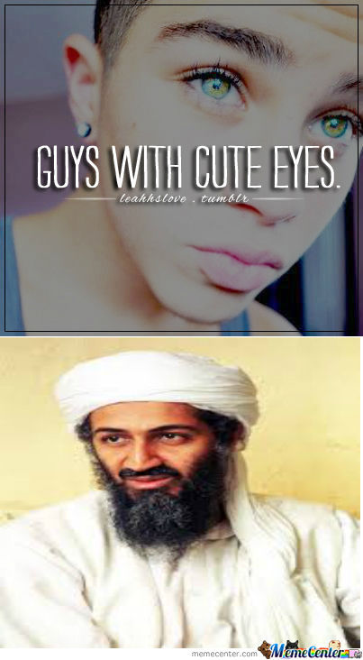 When Boys Have Cute Eyes