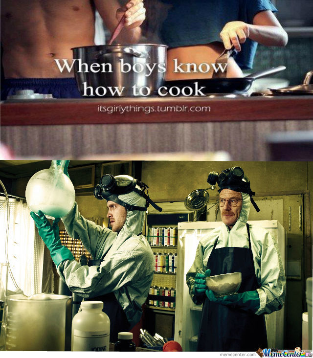 When Boys Know How To Cook