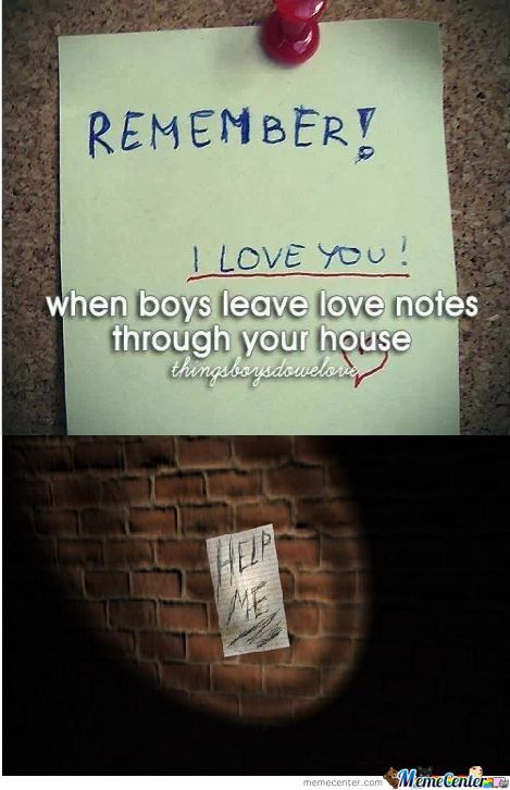 When Boys Leave Love Notes