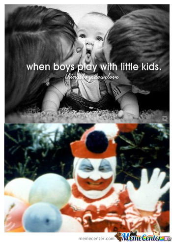 When Boys Play With Little Kids