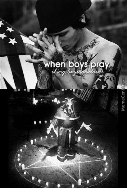 When Boys Pray