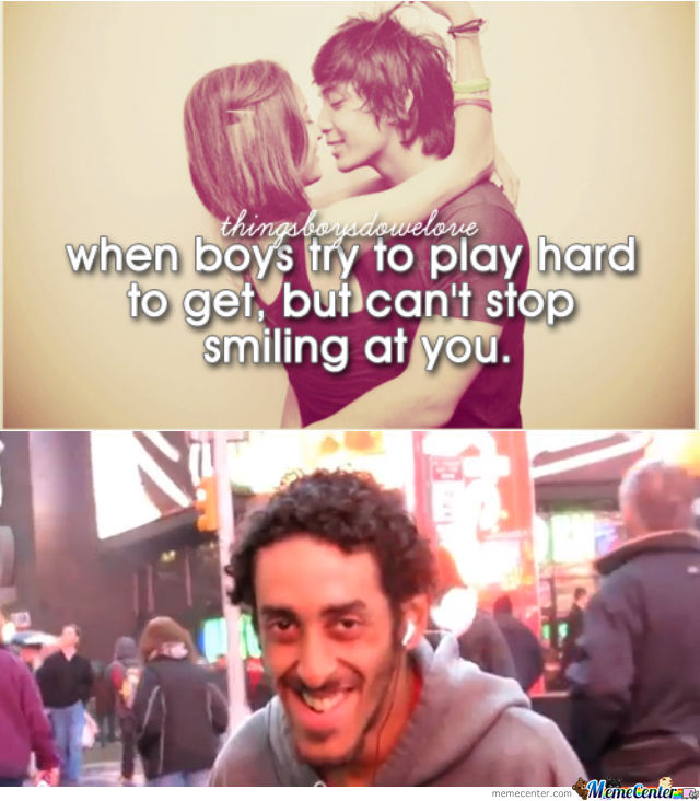 When Boys Smile ...