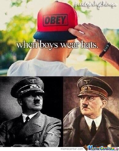 When Boys Wear Hats...!