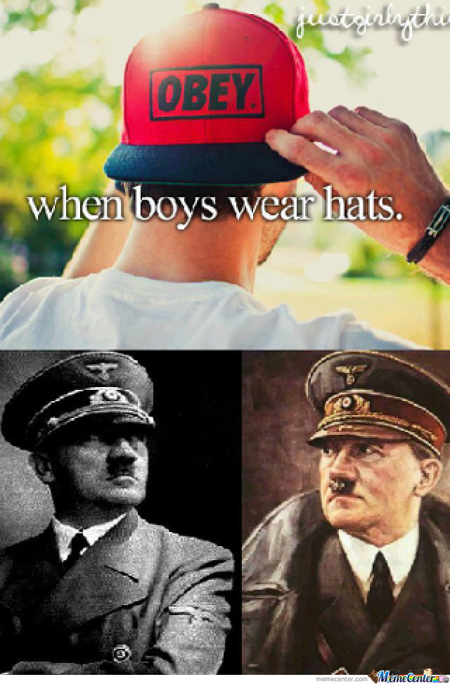 When Boys Wear Hats.