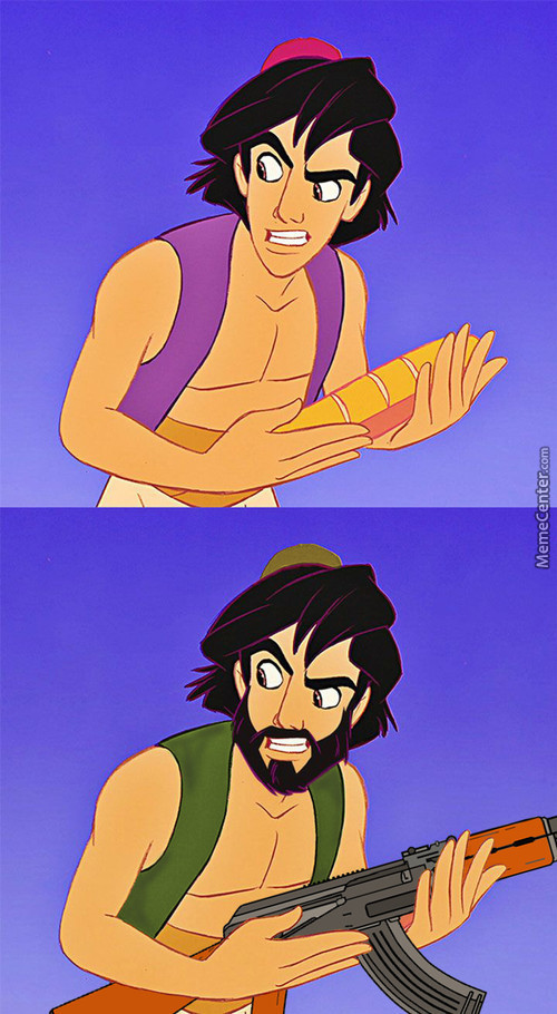 When Disney Fired Aladdin And Jasmine Kicked Him To The Curb