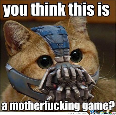 When Friends Try To Spoil The Dark Night Rises..