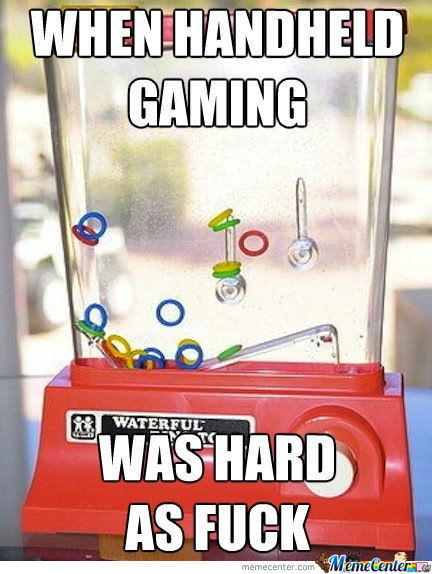 When Handheld Gaming Was Hard,