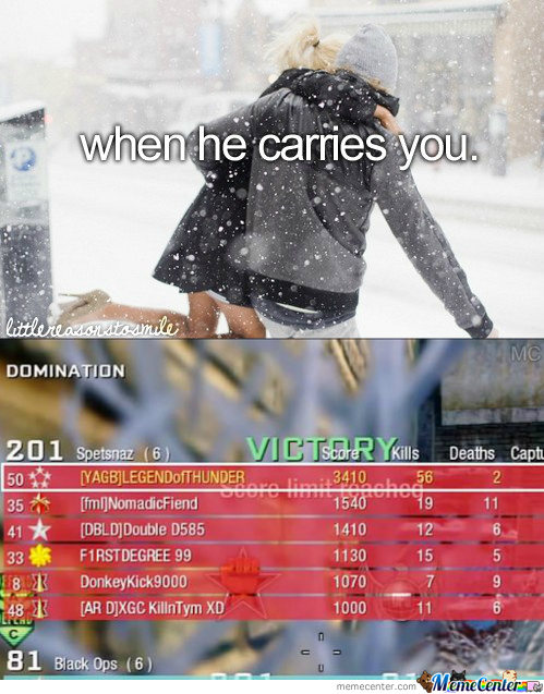 When He Carries You.