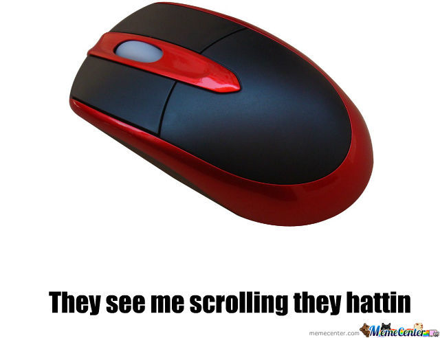 When I Buy A New Mouse Instead Of The Broken One
