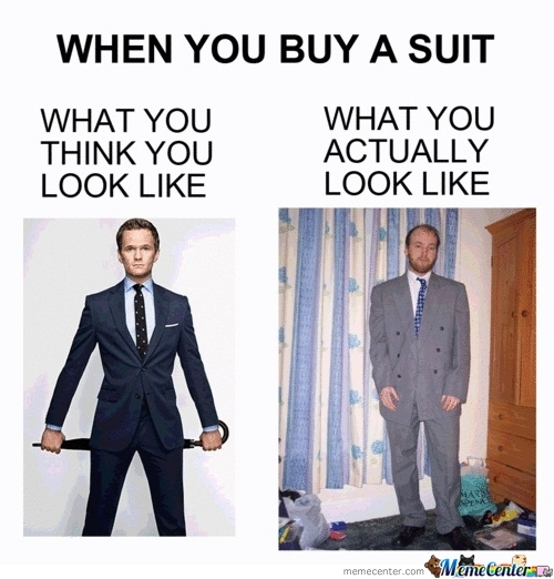 When I Buy A Suit ♣