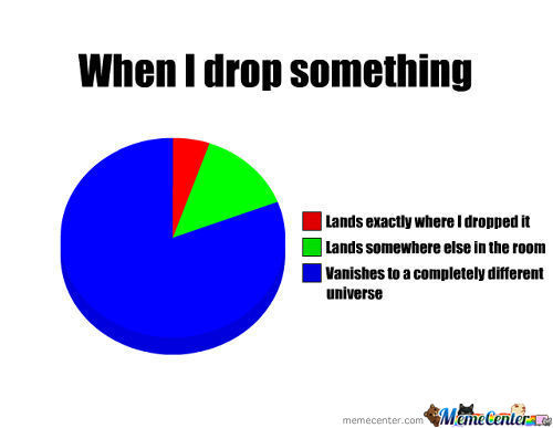 When I Drop Something!