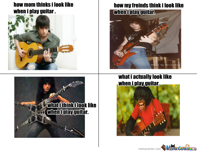 When I Play Guitar