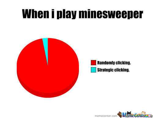 When I Play Minesweeper