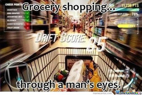 When Men Do Shopping