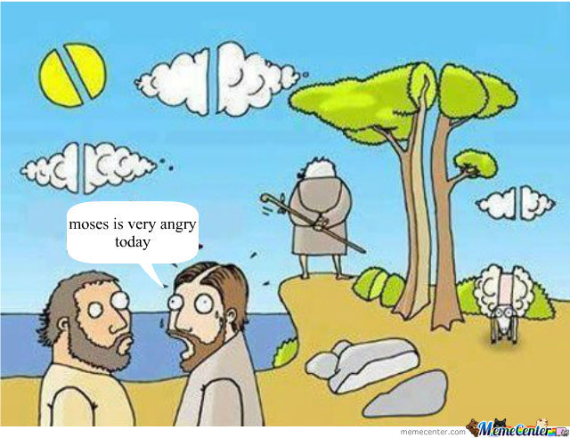 When Moses Got Angry...