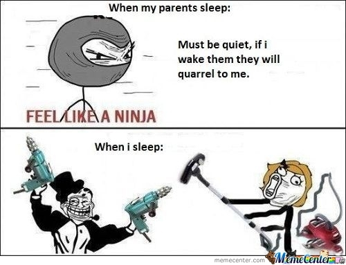 When My Parents Sleep - When I Sleep