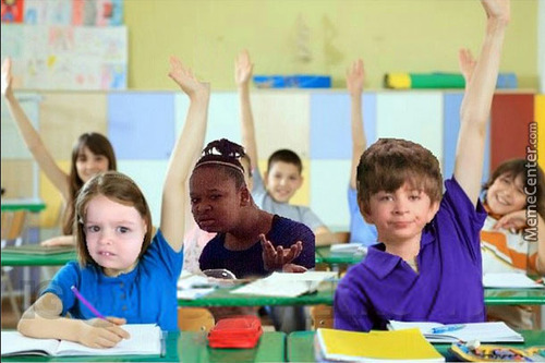 When Other People Have Their Hands Raised,but The Teacher Calls You