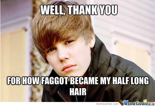 When Someone Calls Me Justin Bieber Because Of My Hair...