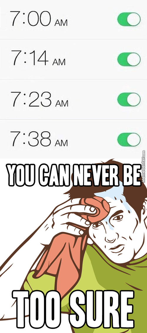 When There's A Very Important Exam In The Morning