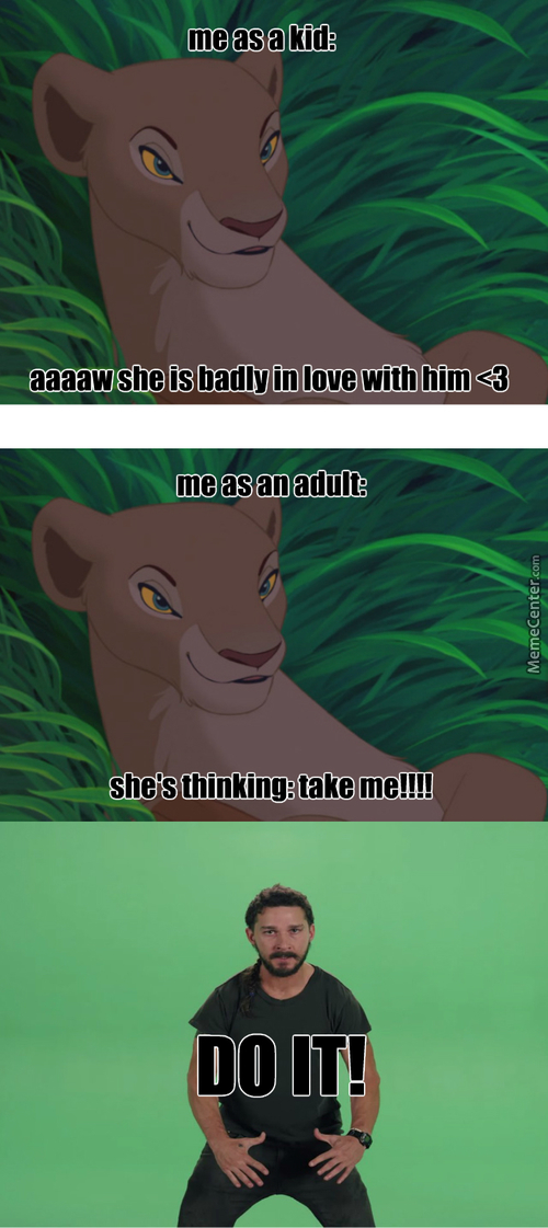 When Watching Disney (Another Childhood Ruined)