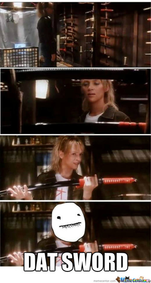 When Watching Kill Bill