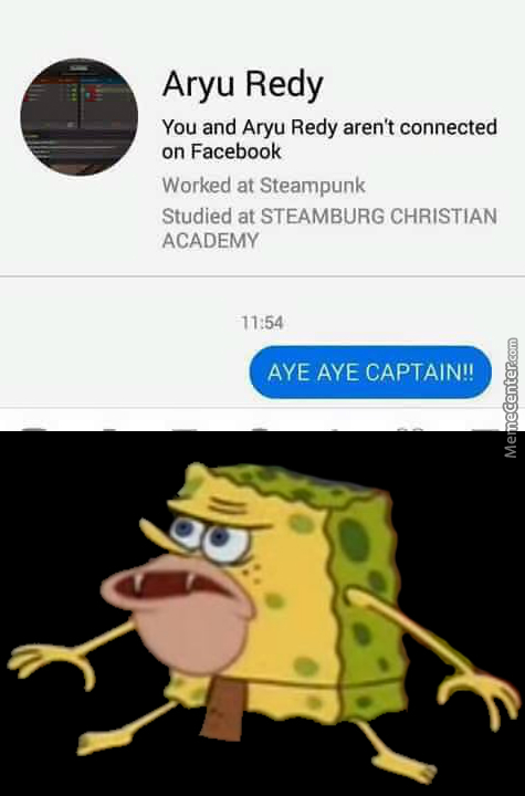 When You Chat Random Strangers And They Be Like Spongegar