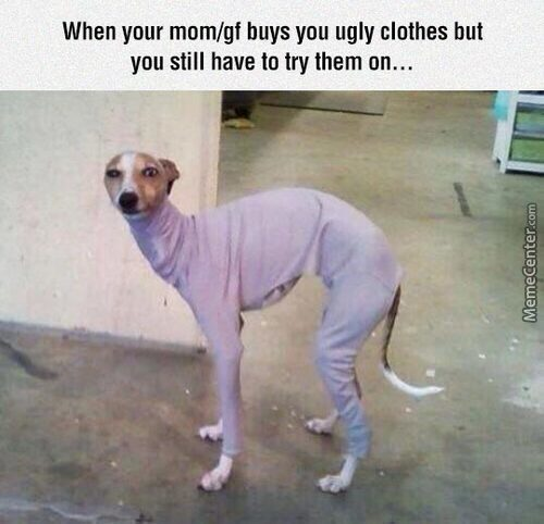 When You Have To Try It On