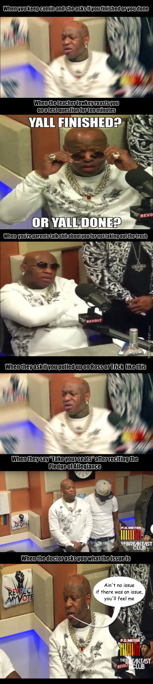 When You See My Meems, Put Some Respeck On It