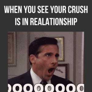 When You See Your Crush Is In Relationship by